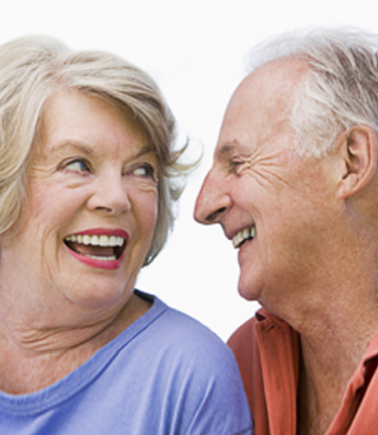 Couple With Dentures in Virginia Beach